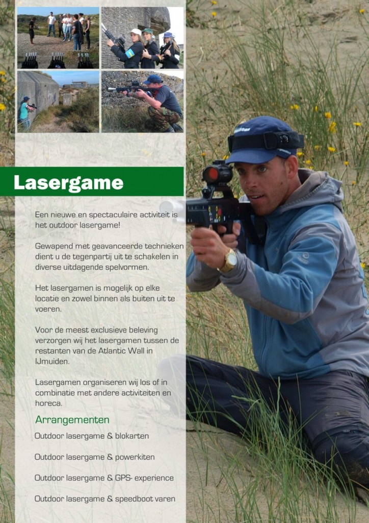 Brochure Lasergame outdoor