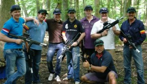 Lasergame Outdoor in de bossen