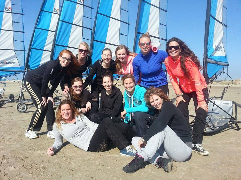lasergame in de duinen team