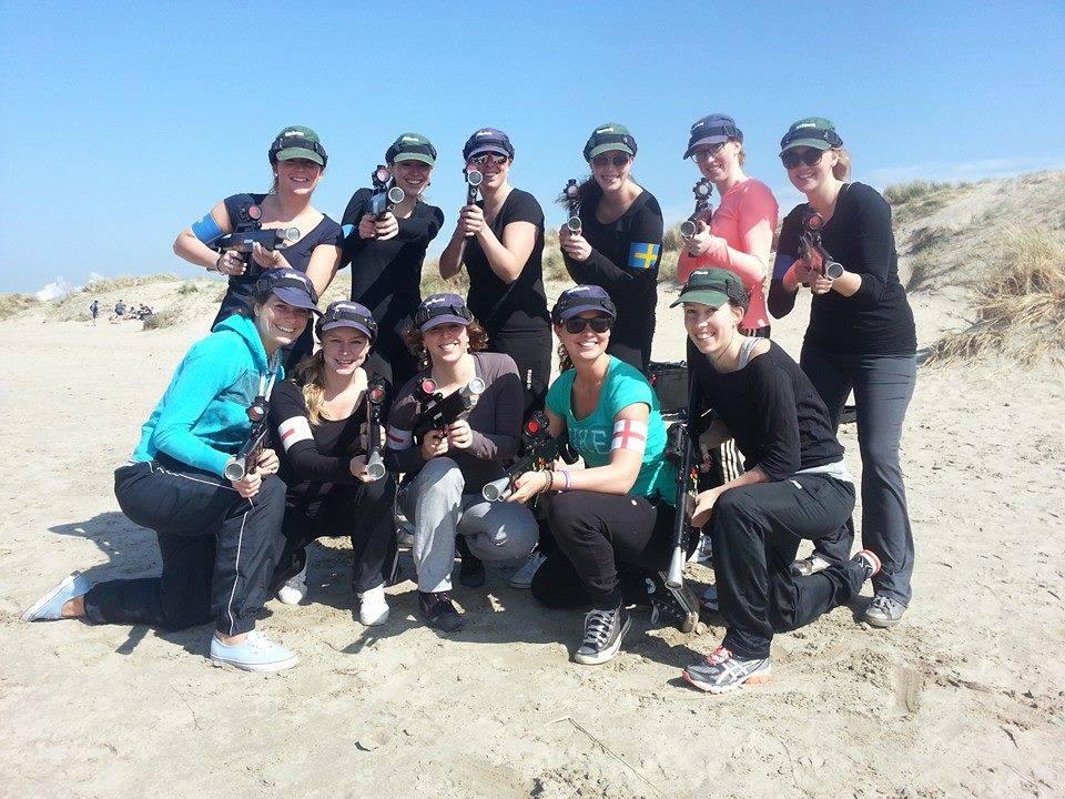 lasergame in de duinen teambuilding